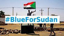 Mandela's 'The Elders,' join #BlueForSudan Twitter campaign