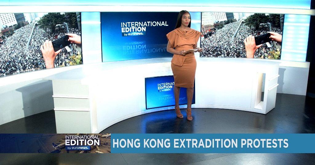Hong Kong extradition protests [International Edition]