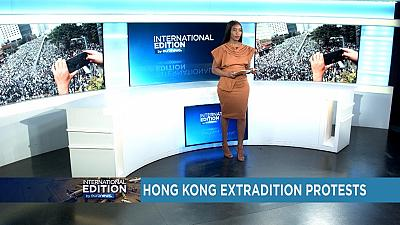 Protestations contre les extraditions à Hong Kong [International Edition]