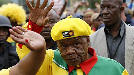 Lesotho's 80-year-old PM accused of ceding power to his wife
