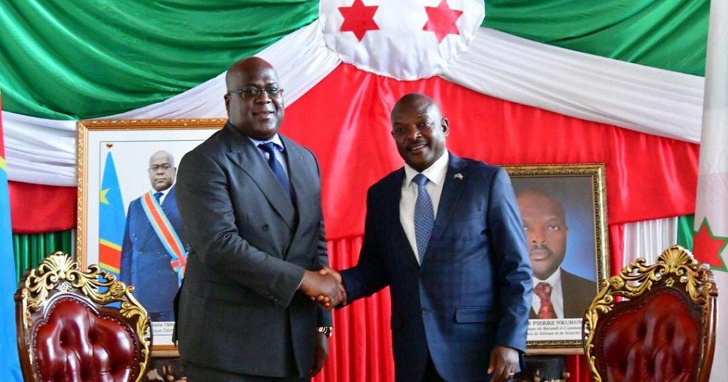 Tshisekedi meets with Nkurunziza