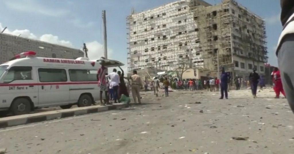 Explosion in Somalia capital kills eight