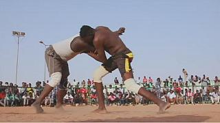 Wrestling kicks back in Sudan, despite growing tensions