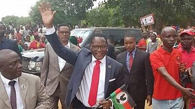 Malawi opposition chief takes MP seat despite disputing presidential vote