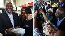 South Africa prez buys lunch himself on busy day in Cape Town