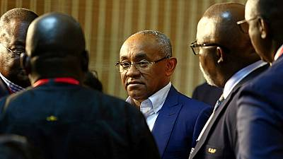 Highlights of Ahmad's troubled CAF presidency