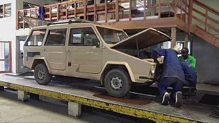Madagascar: la ''Karenjy'', l'automobile faite maison