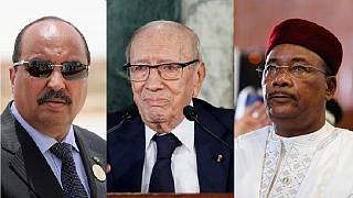 Whiles others sit-tight: Niger, Mauritania, Tunisia presidents bowing out