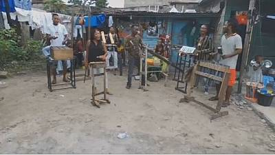 DRC's Fulu Musiki band's 'garbage' music