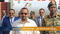 L'Ethiopie en deuil [Morning Call]