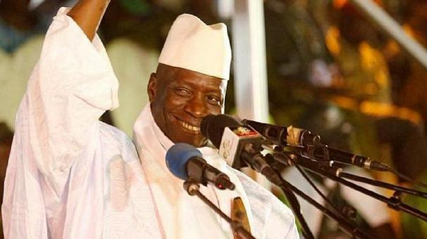 Exiled Gambian president accused of rape by beauty pageant