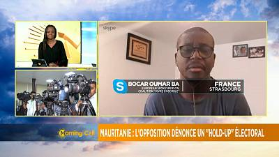 """Mauritanie : l'opposition dénonce un """"hold up"""" électoral [Morning Call]"""