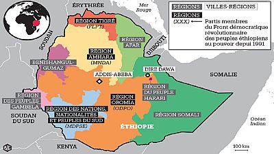 Éthiopie : arrestation d'une cinquantaine de nationalistes amhara
