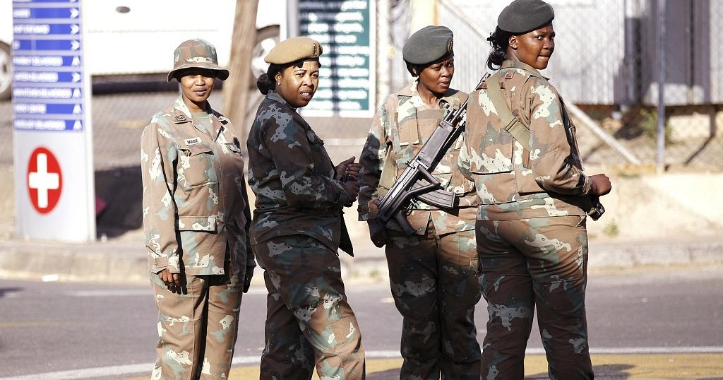 South African Army In Hijab Row, Mandela's Grandson