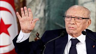 Tunisia president leaves hospital, to resume work