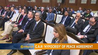 "Central African Republic: ""Hypocrisy"" of peace agreements [The Morning Call]"