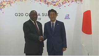 Ramaphosa in talks with Japan - G20 Summit