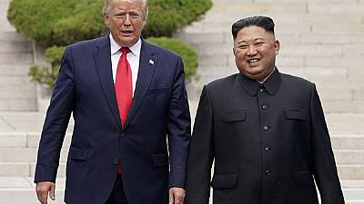 Trump makes history and steps into North Korea