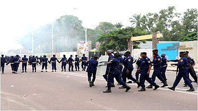 Manifestations interdites en RDC : heurts à Goma, police en force à Kinshasa
