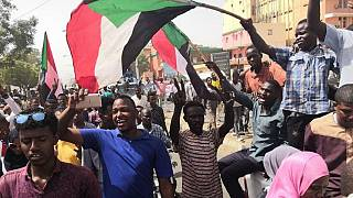 Thousands of Sudanese protesters march to demand civil rule