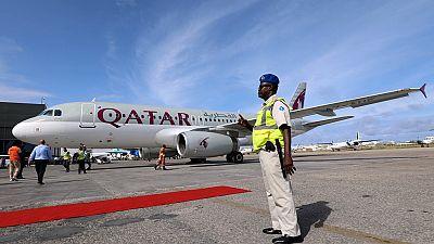Qatar airways begin operation in Somalia