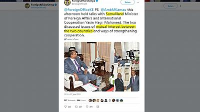 Somaliland steps up diplomatic efforts to secure international recognition