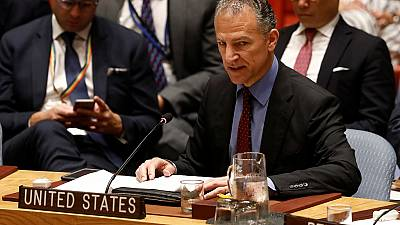 US blocks decision to condemn the deadly airstrike on a migrant detention centre in Libya.