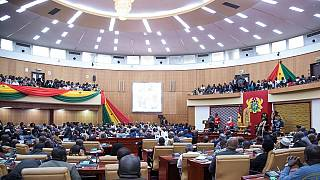 #DropThatChamber: Ghanaians protest $200m parliament project