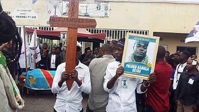 RDC-Manifestation du 30 juin : la LUCHA confirme la mort d'un militant