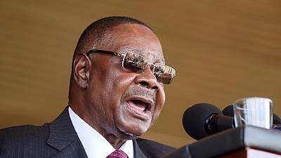 Malawian President condemns disputed poll protests