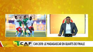 CAN 2019 : Madagascar sensationnel en huitièmes de finale