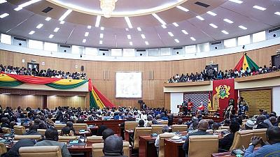 Le Ghana renonce à consacrer 200 millions de dollars à un nouveau Parlement