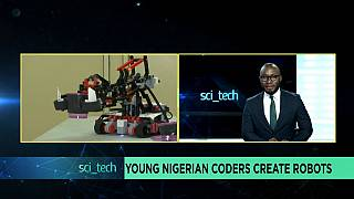 Young Nigerian coders create robots [Sci tech]