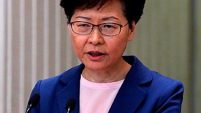 Hong Kong extradition bill total failure