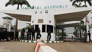 Nigeria parliament on lockdown as police, protesters clash