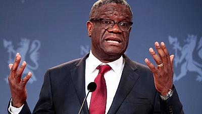 Don't stop investigating war crimes in DRC: Mukwege urges ICC