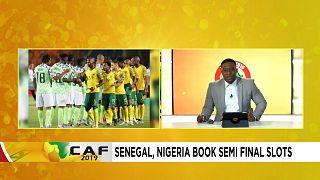 Spécial CAN : Le Sénégal et le Nigéria en demi-finale