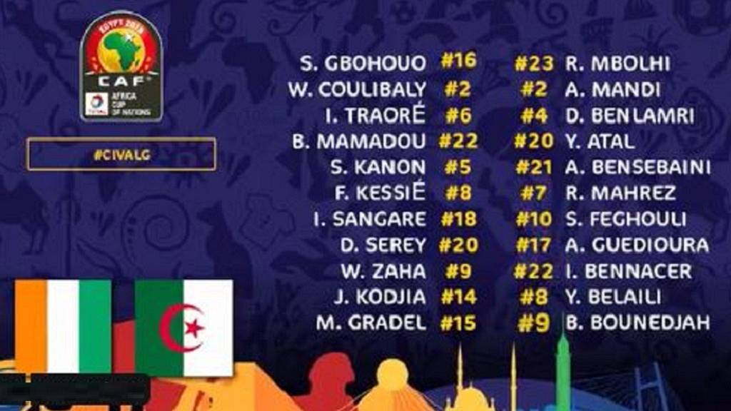 AFCON 2019 semi-finals fixtures: Senegal vs  Tunisia
