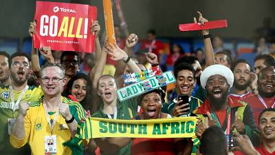 Fans proud of South Africa performance
