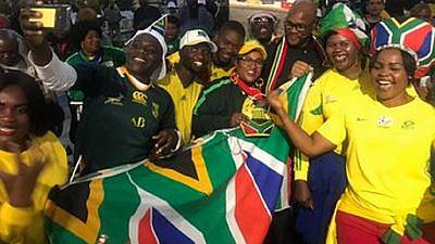 2019 Netball World Cup: Team South Africa gets triumphant welcome