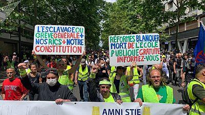 """Défilé du 14 juillet à Paris : des """"gilets jaunes"""" s'invitent"""