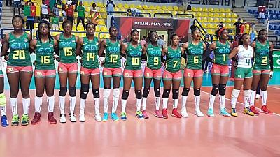 Cameroun - Urgent: Les Lionnes, championnes d'Afrique de Volley, sont arrivées à Yaoundé