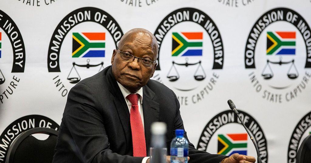 """""""J'ai été accusé d'être le roi des personnes corrompues"""" - Jacob Zuma"""