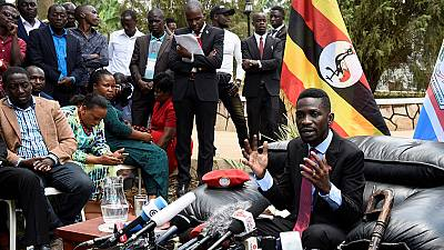 Uganda's Bobi Wine to contest 2021 polls 'on behalf of the people'