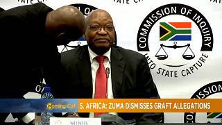 South Africa: Zuma dismisses graft allegations [The Morning Call]