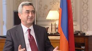 "Sargsyan: Armenia joining NATO is ""not on the agenda"""