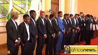 Madagascar footballers knighted after historic Afcon performance
