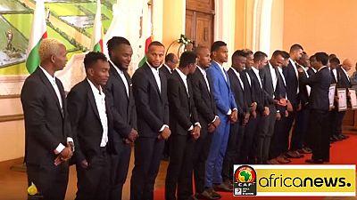 CAN 2019 : les Baréas malgaches honorés par le chef de l'Etat