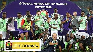 AFCON 2019 third-place playoff: Nigeria leads Tunisia via Ighalo goal