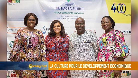 La culture au service du développement de l'Afrique [Morning Call]